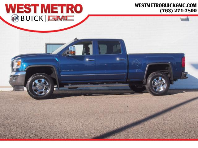 Pre Owned 2017 Gmc Sierra 3500hd Slt Crew Cab Pickup For Sale In