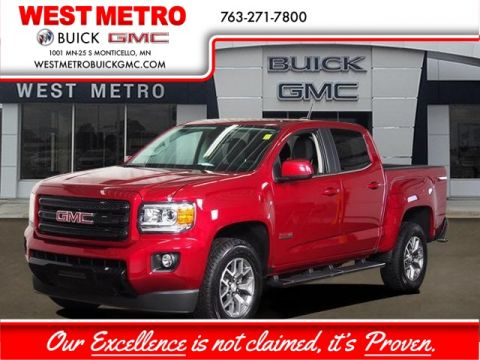 Pre-Owned 2019 GMC Canyon All Terrain